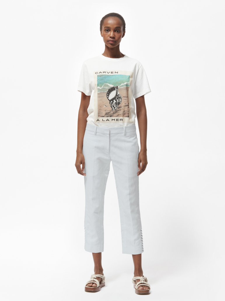 RIVERA CROPPED TROUSERS