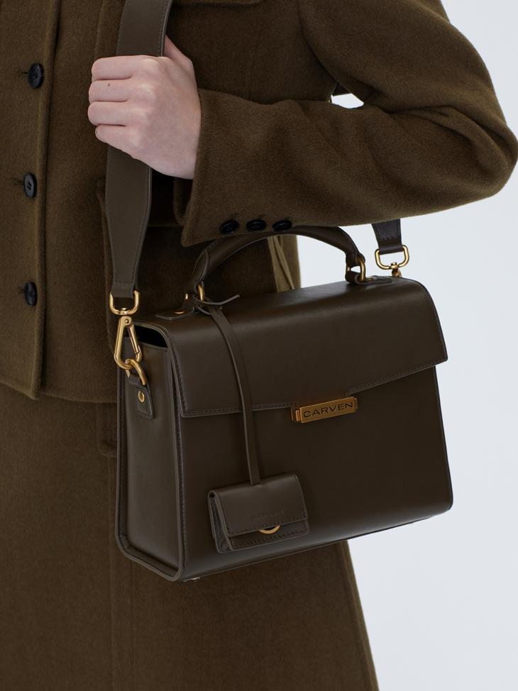 TRUFFLE SHOULDER BAG