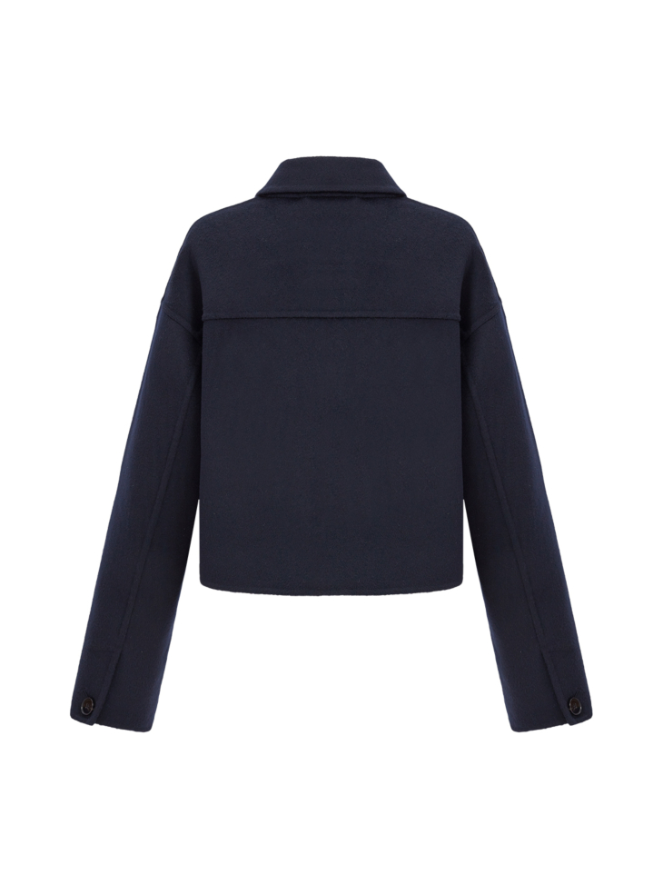 3 POCKET WOOL AND CASHMERE JACKET