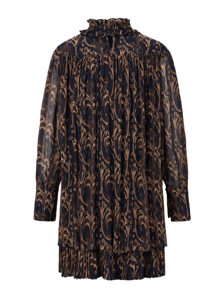COCONUT TREE SILK DRESS