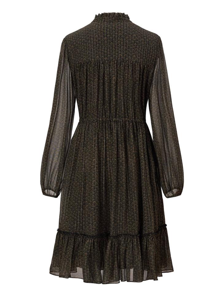 SILK AND LUREX DRESS