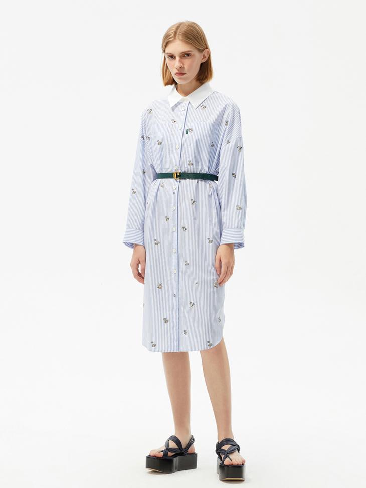 GRAND VOILE SHIRT DRESS