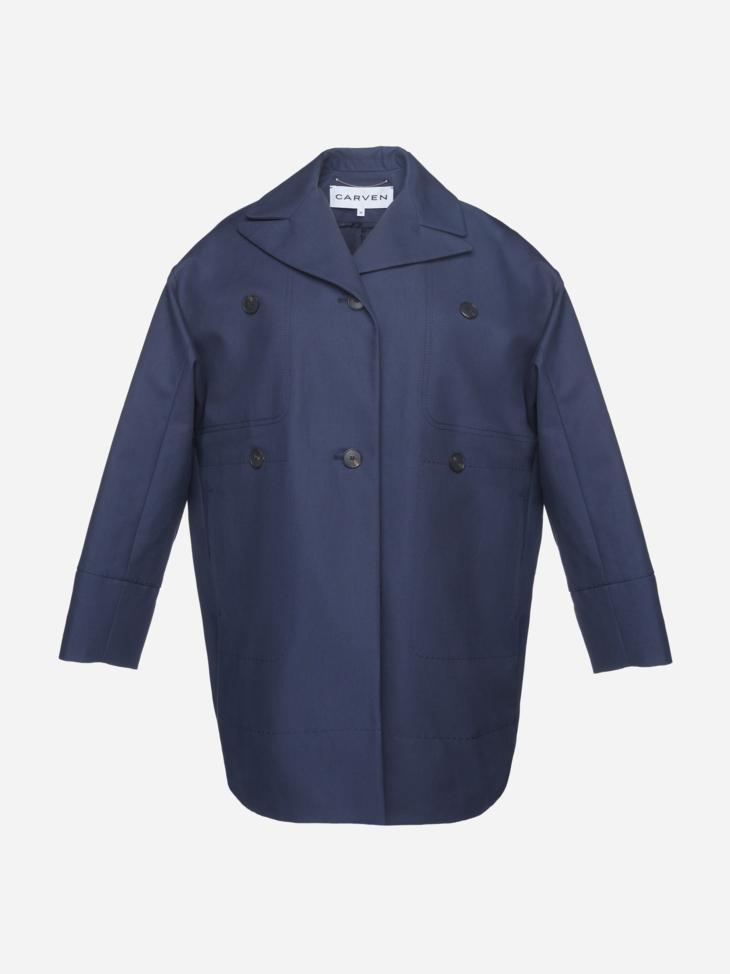 Cotton Gabardine Coat