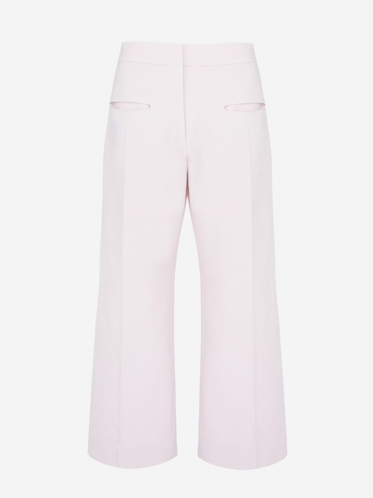 Viscose Wool Trousers