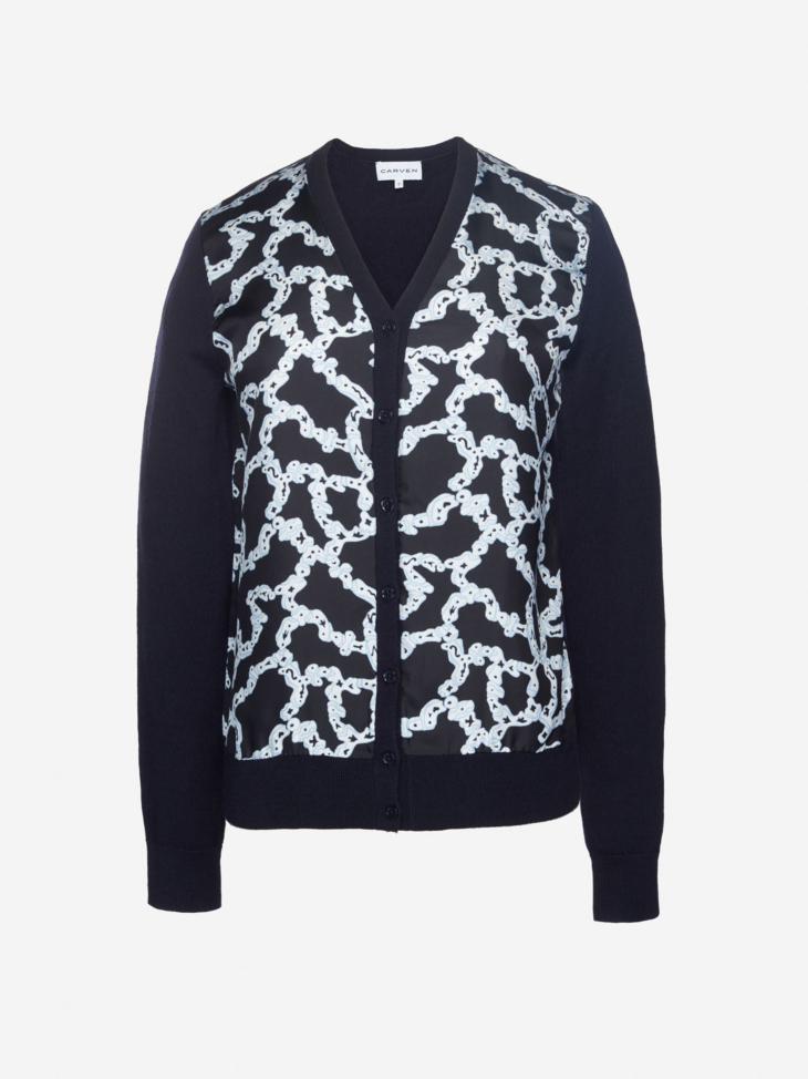 Merino Wool and Silk Twill