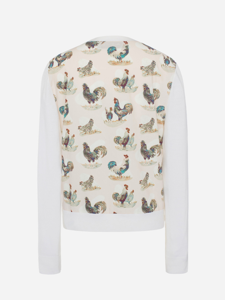 Rooster Cardigan