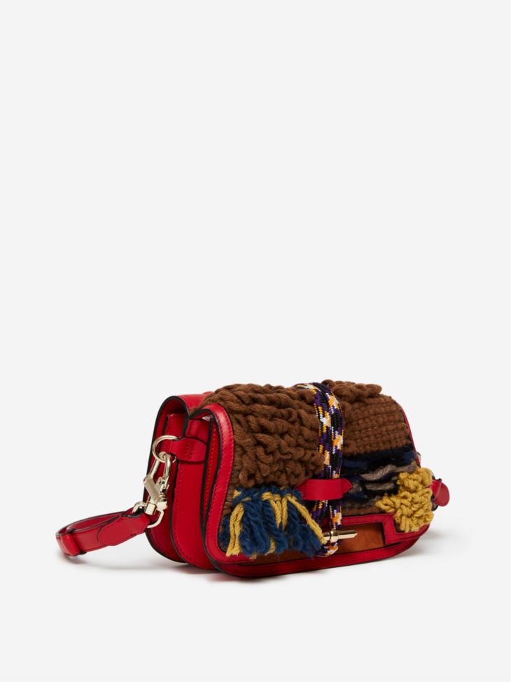 Small Wool Twin Bag