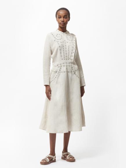SWIRL LONG DRESS