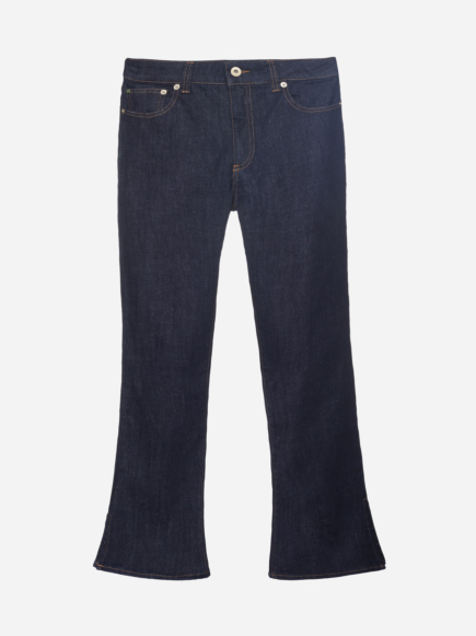 Cropped Flared Jeans
